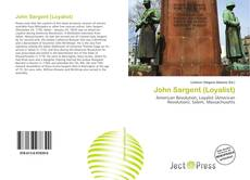 Bookcover of John Sargent (Loyalist)
