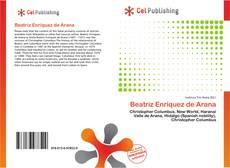 Bookcover of Beatriz Enríquez de Arana
