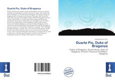 Capa do livro de Duarte Pio, Duke of Braganza