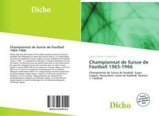 Championnat de Suisse de Football 1965-1966 kitap kapağı