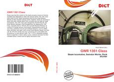 Bookcover of GWR 1361 Class