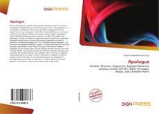 Buchcover von Apologue