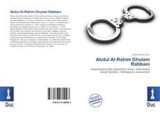 Abdul Al-Rahim Ghulam Rabbani的封面