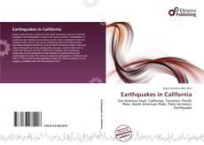 Earthquakes in California kitap kapağı