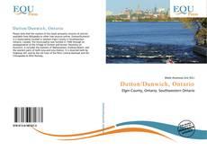 Dutton/Dunwich, Ontario kitap kapağı