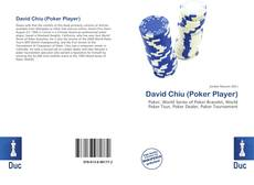 Couverture de David Chiu (Poker Player)