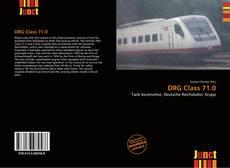 Portada del libro de DRG Class 71.0