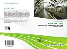 Bookcover of GWR 388 Class
