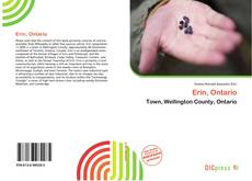Bookcover of Erin, Ontario