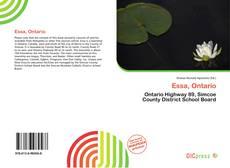 Essa, Ontario kitap kapağı