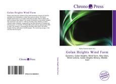 Обложка Golan Heights Wind Farm