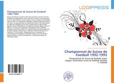 Bookcover of Championnat de Suisse de Football 1992-1993