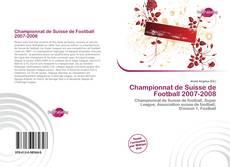 Capa do livro de Championnat de Suisse de Football 2007-2008