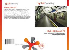 Bookcover of Kuk HB Class 578