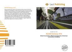 Обложка ALCO Century 415