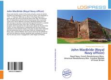 Bookcover of John MacBride (Royal Navy officer)