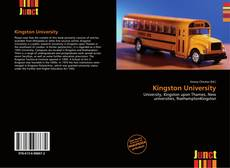 Portada del libro de Kingston University