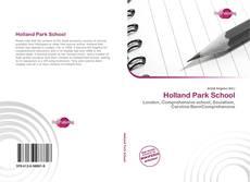 Holland Park School kitap kapağı