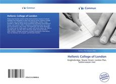 Bookcover of Hellenic College of London