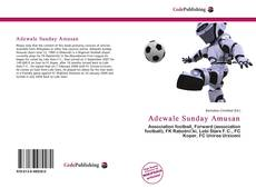 Capa do livro de Adewale Sunday Amusan