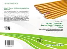 Bookcover of Mount Carmel RC Technology College for Girls