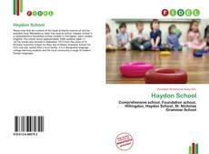 Bookcover of Haydon School
