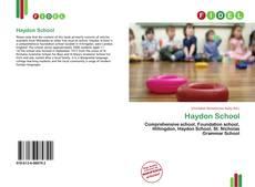 Buchcover von Haydon School