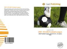2001–02 UAE Football League的封面