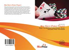 Couverture de Max Stern (Poker Player)
