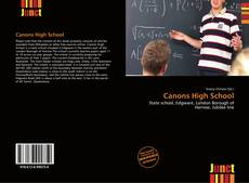 Bookcover of Canons High School