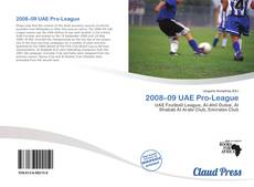 Couverture de 2008–09 UAE Pro-League
