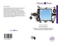 Ed Grothus kitap kapağı
