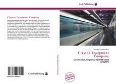 Clayton Equipment Company kitap kapağı