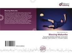 Blessing Makunike的封面