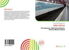 Bookcover of EMD SDP45