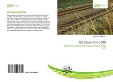 Bookcover of GE Dash 8-40CW