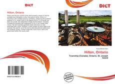 Copertina di Hilton, Ontario