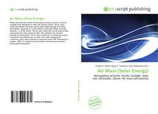 Bookcover of Air Mass (Solar Energy)