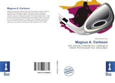 Magnus A. Carlsson的封面