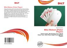 Bookcover of Mike Watson (Poker Player)