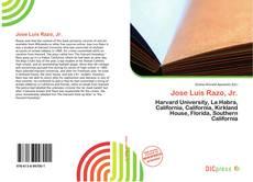 Portada del libro de Jose Luis Razo, Jr.