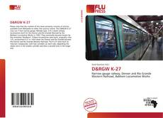 Bookcover of D&RGW K-27