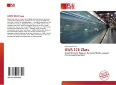 Bookcover of GWR 378 Class
