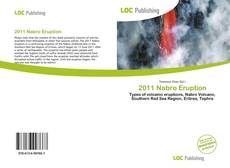 Bookcover of 2011 Nabro Eruption