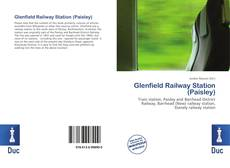 Bookcover of Glenfield Railway Station (Paisley)