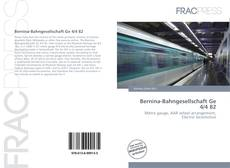 Copertina di Bernina-Bahngesellschaft Ge 4/4 82