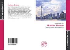 Bookcover of Hudson, Ontario