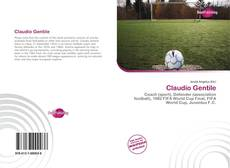 Capa do livro de Claudio Gentile