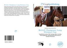 Portada del libro de British Champions Long Distance Cup
