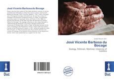 Capa do livro de José Vicente Barbosa du Bocage